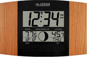 Atomic Clock With Outdoor Temperature