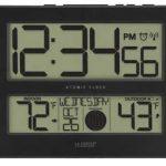 Best Atomic Clock With Indoor Outdoor Temperature