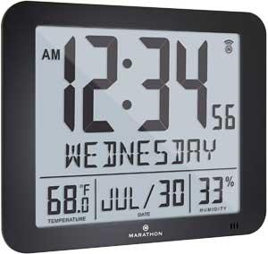 Marathon Slim Atomic Clock