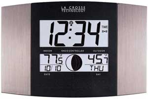 indoor outdoor thermometer atomic clock