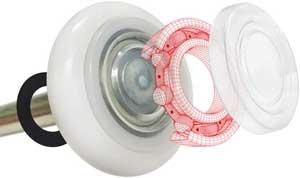 Bearing Nylon Garage Door Roller