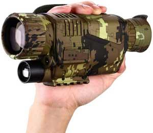 Digital Night Vision Monocular 5x8 Optics Scope