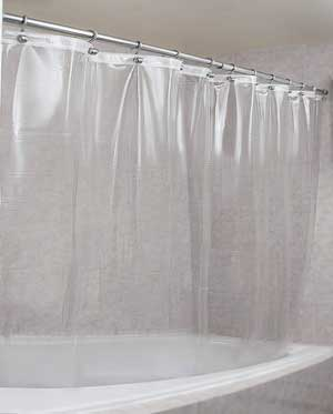 EPICA Strongest Mildew Resistant Shower Curtain Liner
