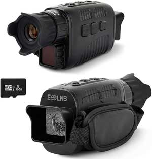 ESSLNB Night Vision Monocular 10X Infrared Monocular