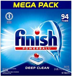 Finish All in 1 Dishwasher Detergent