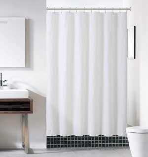 Heavy Duty Mold & Mildew Resistant Curtain Liner