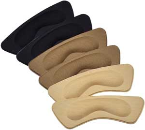 Hotop 6 Pairs of Heel Cushion Pads