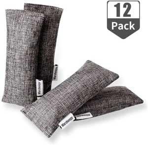 Marsheepy 12 Pack Bamboo Charcoal Bags