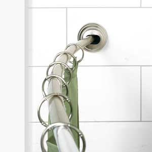 Shower Curtain Rod Tension Mount