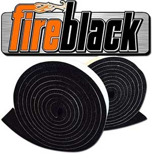 FireBlack Replacement Big Green Egg Gasket High Temp