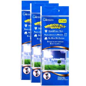 Garsum Fly Clear Window Fly Traps