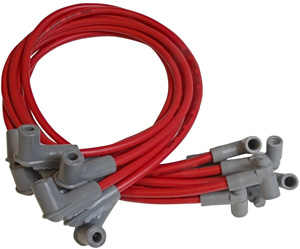 MSD 35599 Red 8.5mm Super Conductor Spark Red Plug Wire