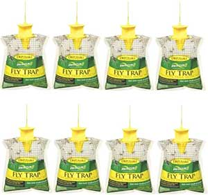Rescue Outdoor Disposable Hanging Fly Trap