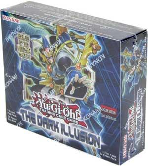 yugioh dark illusion booster box