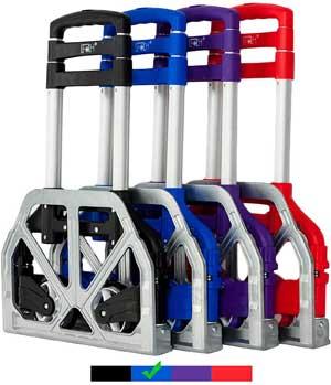 aluminium folding luggage cart