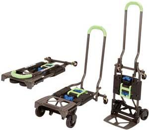 heavy duty folding luggage cart with wheels