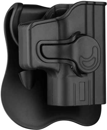 Cytac OWB Glock 43 Holster with 360° Adjustable Paddle