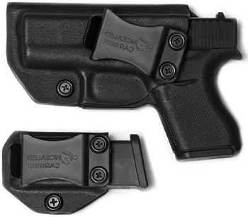 IWB Glock 43 Holster with Magazine Holster