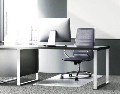 Floortex Glass Chair Mat for Hard Floors