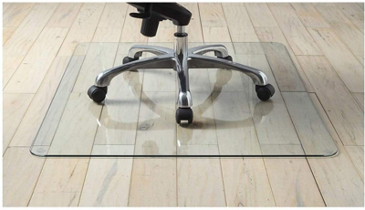Premium Tempered Glass Chair Mat